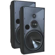 """See Details - 8"""" Indoor/Outdoor Speakers (Black)"""