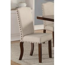 Cara Dining Chair, Full-fabric