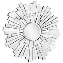 Modern 47.5 in. Contemporary Mirror in Clear