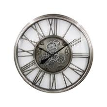 """See Details - Traditional Round 32"""" Gear Clock"""
