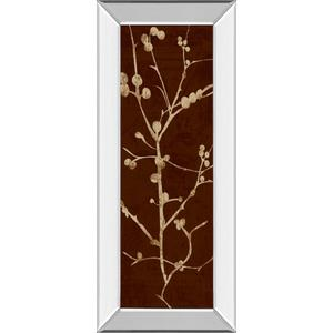 """""""Branching Out Il"""" By Diane Stimson Mirror Framed Print Wall Art"""