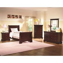 Versaille Twin/Twin Bunk - Youth 6 Drawer Dresser