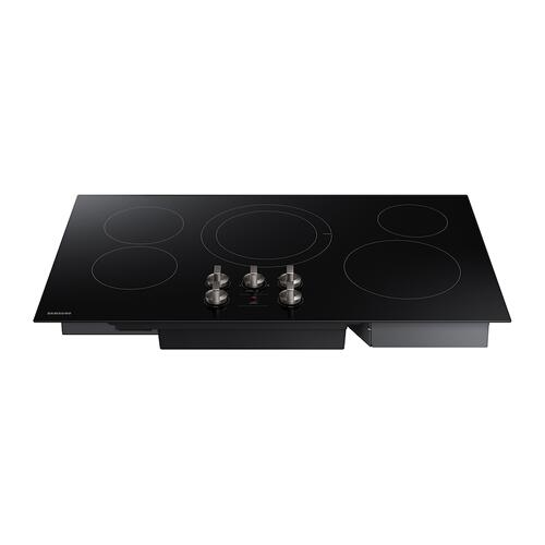 """Product Image - 36"""" Electric Cooktop in Black"""
