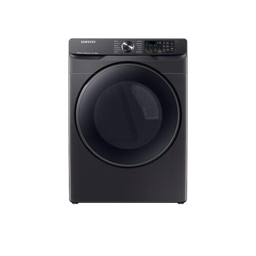 7.5 cu. ft. Smart Electric Dryer with Steam Sanitize+ in Black Stainless Steel