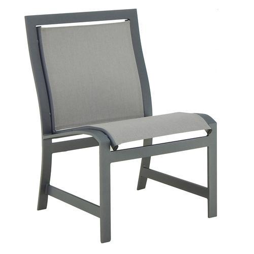 Castelle - Moderna Sling Dining Armless Chair