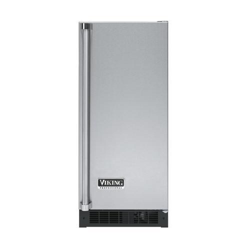 """Viking - Stainless Steel 15"""" Solid Door Beverage Center - VUAR (Right Hinge Solid Door)"""
