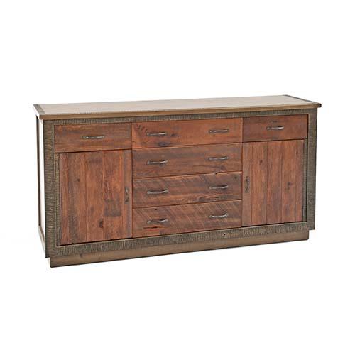Green Gables Furniture - Berkeley - 6 Drawer 2 Door Dresser