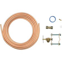 See Details - Copper Refrigerator Water Supply Kit