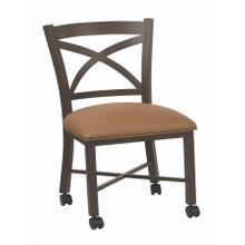 See Details - Edmonton Chair W/ Caster Bar Stool