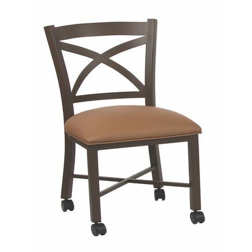 Edmonton Chair W/ Caster Bar Stool