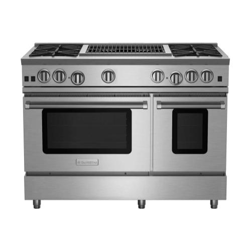 "48"" RNB Series Range with 24"" Charbroiler"