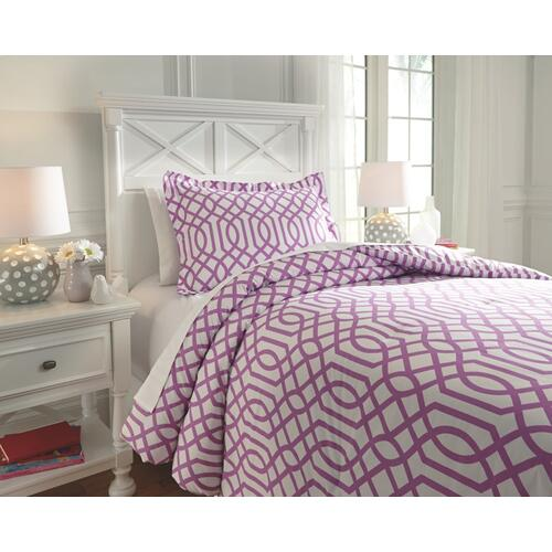Loomis 2-piece Twin Comforter Set