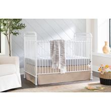 View Product - Washed White Abigail 3-in-1 Convertible Crib -