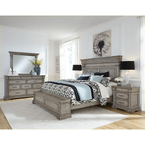 Madison Ridge Queen / King Panel Bed Side Rails in Heritage Taupe