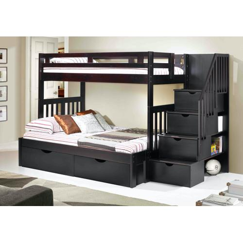Innovations Furniture - Naples Bunk With Staircase With Full Kit With Ubc