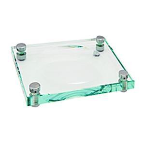 Pombo Omnia Freestanding Glass Soap Dish Holder