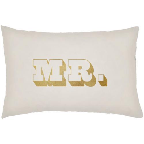 """Mr & Mrs MRSS-006 16""""H x 16""""W"""