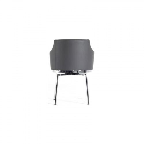 Modrest Kaweah Modern Grey Dining Chair