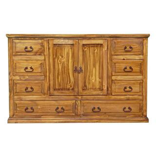 Brown Wb Econo 2 Door Dresser