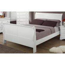 See Details - Bianco Bedroom : Bianco Queen Panel Sleigh Bed