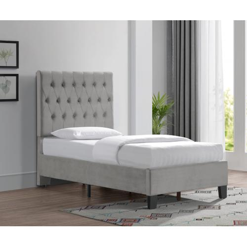 Emerald Home Furnishings - Twin Upholstered Bed