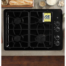 "GE 30"" Gas Cooktop Black JGP329DETBB"