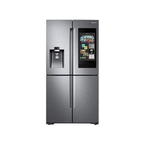 Samsung - 28 cu. ft. Family Hub™ 4-Door Flex™ Refrigerator in Stainless Steel
