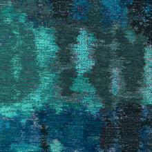 Watercolor Turquoise Fabric