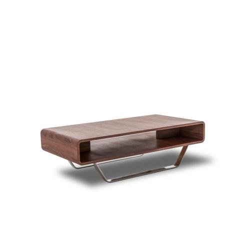 Modrest Avis - Modern Walnut Matte Coffee Table
