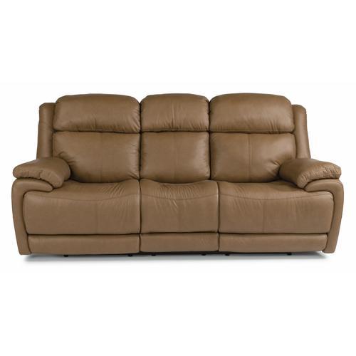 Flexsteel - Elijah Power Reclining Sofa with Power Headrests and Lumbar