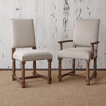 View Product - Voranado Arm Chair - Swag Flax