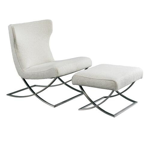 Carlo Chair and Ottoman