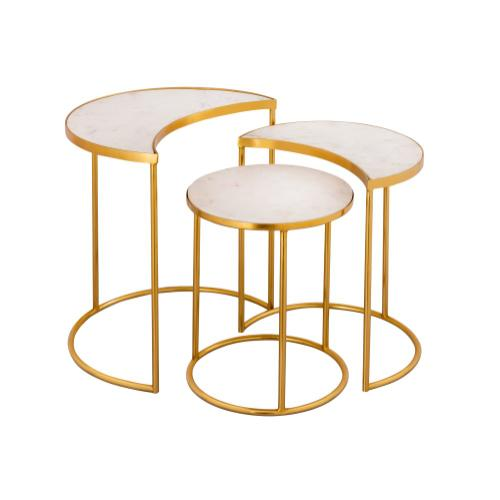Tov Furniture - Crescent Nesting Tables by Inspire Me! Home Decor