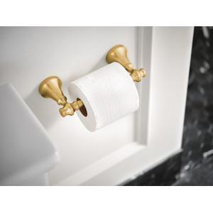 Colinet brushed gold pivoting paper holder