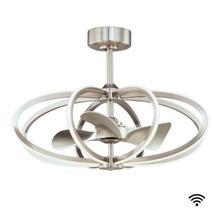 See Details - Solstice 8-Light WiFi-enabled LED Fandelight
