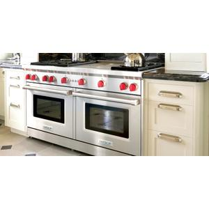 """60"""" Gas Range - 6 burners and Double Griddle"""