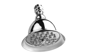"Traditional 4-3/8"" Tulip Showerhead Product Image"