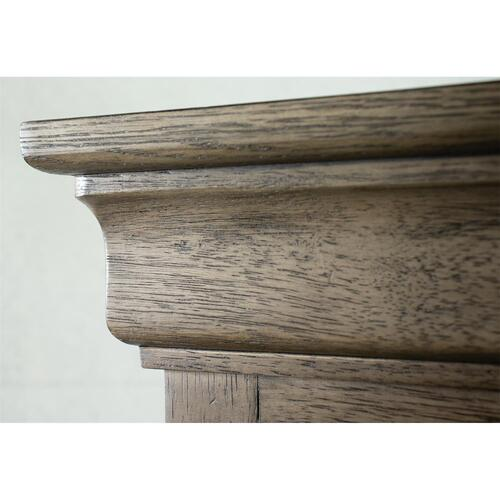 Louis Farmhouse - Five Drawer Chest - Antique Oak Finish