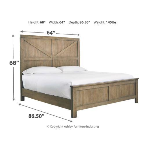 Aldwin Queen Panel Bed