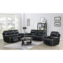 Norfolk Black (Sofa & Love) Sofa