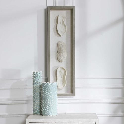 White Coral Shadow Box