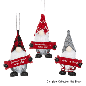 Gnome for the Holidays Ornaments (48 pc. ppk.)