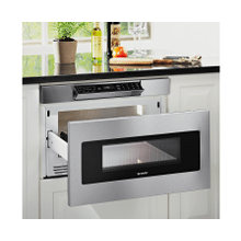 """View Product - 30"""" Microwave Drawer; Hidden Control Panel; Automatic Drawer Opening System"""