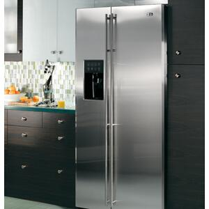 Monogram® Free-Standing Side-by-Side Refrigerator