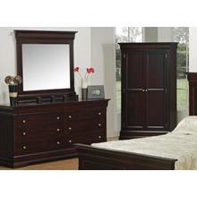 Phillipe 74 Wide 8 Drawer Double Dresser