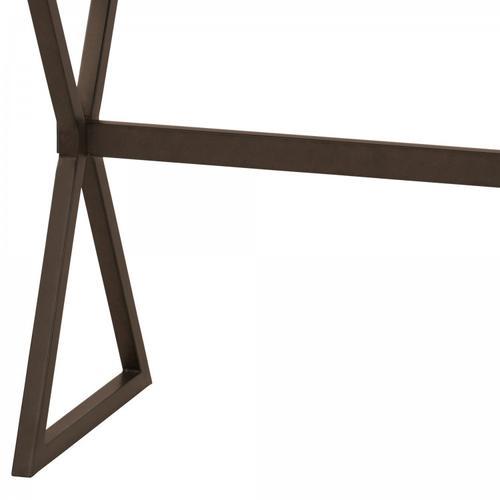 Armen Living Valencia Contemporary Rectangular Bar Table