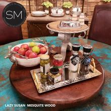 Mesquite Wood Lazy Susan
