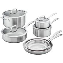 ZWILLING Spirit Stainless 3-ply 10-pc Stainless Steel Cookware Set