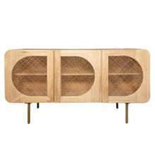 Wood 63x34 3-door Sideboard