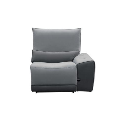 Armless Chair with Adjustable Headrest